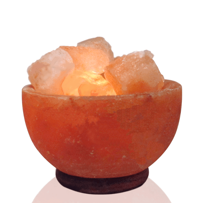 Do Salt Lamps Cause Fires : Fire Bowl shape salt lamp - Dr Rosanna Mundy PhD